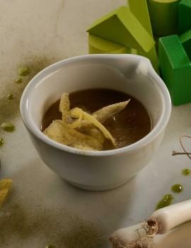 ORGANIC CREAM OF GREEN VEGETABLE SOUP